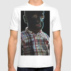Acid Baby White Mens Fitted Tee SMALL