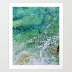 Waves pt. 3 Art Print