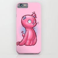 iPhone & iPod Case featuring toycat by AdiFish