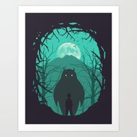 Scary Monsters And Nice … Art Print