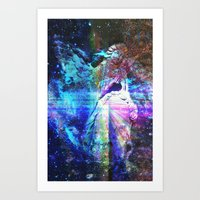 Even The Heavenly Falter II Art Print
