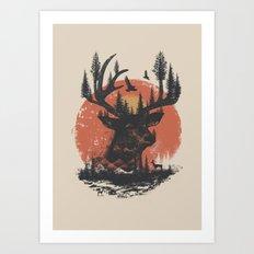 Look Deep Into Nature Art Print