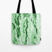 Emerald Melt Tote Bag