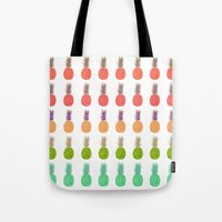 Pineapples - Tropicana Tote Bag