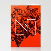 Old School Rocks (Orange… Stationery Cards