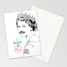 I Want It All Stationery Cards