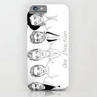 one direction iPhone & iPod Cases featuring One Direction by ☿ cactei ☿