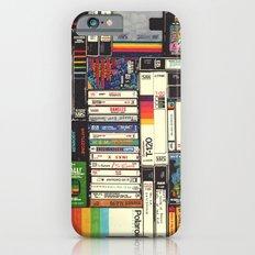 Cassettes, VHS & Atari iPhone 6s Slim Case