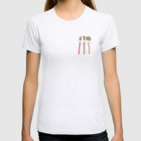 Hairstyles Womens Fitted Tee Ash Grey SMALL