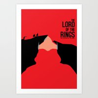The Return of the King Art Print