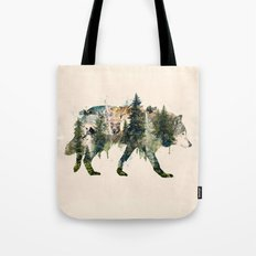 Wolf is the Pride of Nature Tote Bag