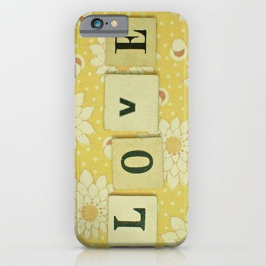 Love No.4 iPhone & iPod Case