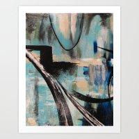 Blue Part 1 Art Print