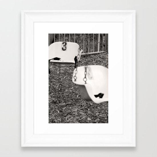 Swing # 3 Framed Art Print