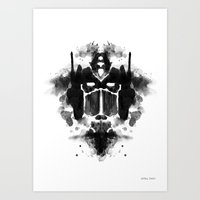 Optimust Art Print