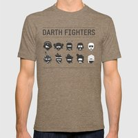 Darth Fighters Mens Fitted Tee Tri-Coffee SMALL