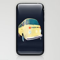 iPhone & iPod Skin featuring Kombi 2 by Buster Fidez