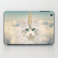 Unicorn Cat Sky iPad Case