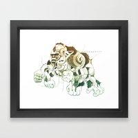 Gorilla Gorilla Gorilla! Framed Art Print
