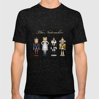 The Nutcracker Mens Fitted Tee Tri-Black SMALL