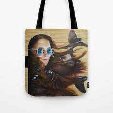 While Life Passes By Tote Bag