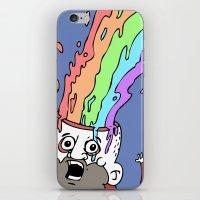 RainbowHead iPhone & iPod Skin