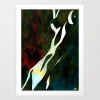 nude number nine Art Print