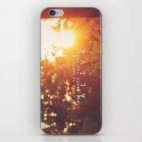 feel alive. iPhone & iPod Skin