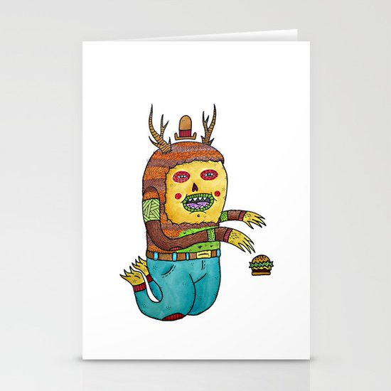 Burger time. Stationery Card