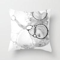 Bubbles 1 Throw Pillow