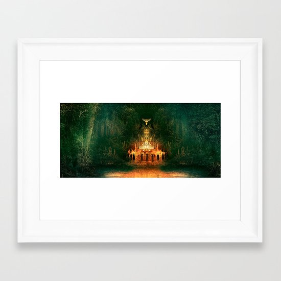 3:33 - Live From the Grove print Framed Art Print