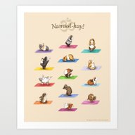 The Yoguineas Collection… Art Print