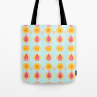 Pineapple & Ice Cream Tote Bag