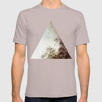 Look Up Mens Fitted Tee Cinder SMALL