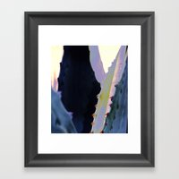 Agave Heart Framed Art Print