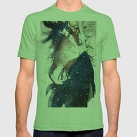 Lucy in the sky with diamonds Mens Fitted Tee Grass SMALL