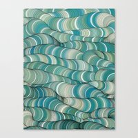 Wave Maker Canvas Print