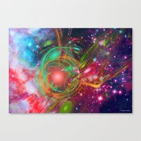 New Universe Canvas Print