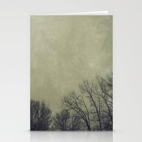 Barren Winter Stationery Cards