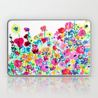 Flower Fields Pink Laptop & iPad Skin