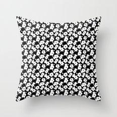 Mod Flower Throw Pillow