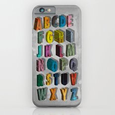alphabet city iPhone 6s Slim Case