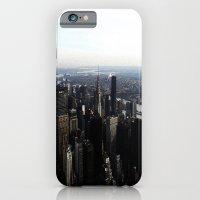 iPhone & iPod Case featuring New York Skyline by Lucrezia Semenzato