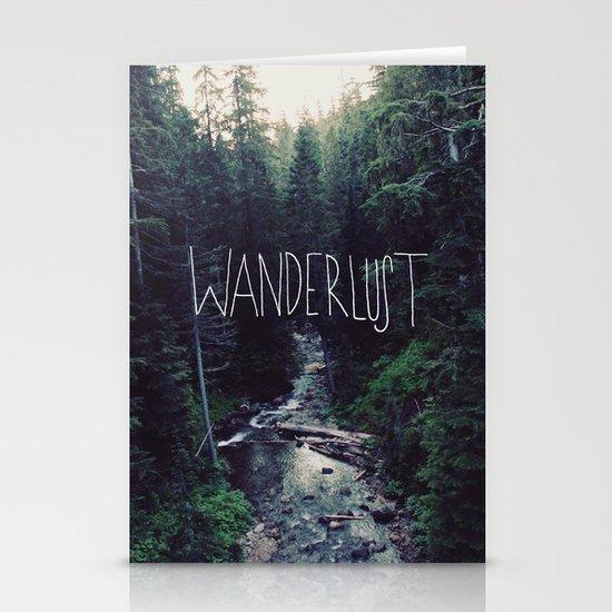 Wanderlust: Rainier Creek Stationery Card