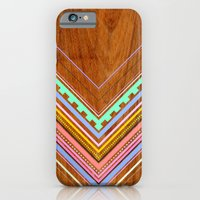 iPhone Cases featuring Aztec Arbutus by Jenny Mhairi