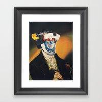 Voltron Framed Art Print