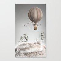 Morning Balloon Canvas Print