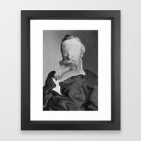 No Man Framed Art Print