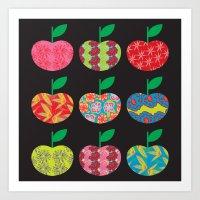 Apples Art Print