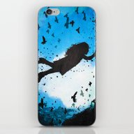 Above The Clouds iPhone & iPod Skin